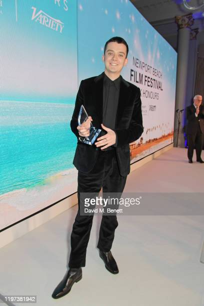 Asa Butterfield attends the Newport Beach Film Festival 6th Annual UK Honours at The Langham Hotel on January 29 2020 in London England