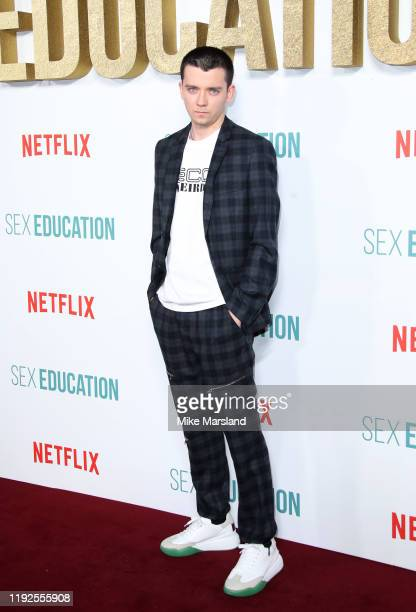 "Asa Butterfield attends the ""Sex Education"" Season 2 World Premiere at Genesis Cinema on January 8, 2020 in London, England."