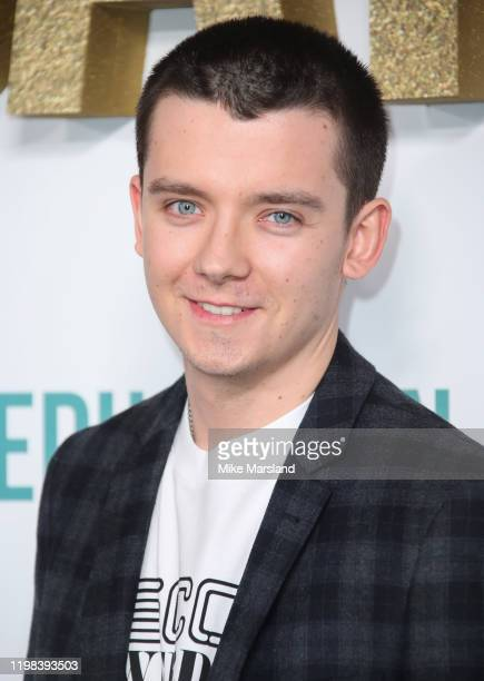 Asa Butterfield attends the Sex Education Season 2 World Premiere at Genesis Cinema on January 08 2020 in London England