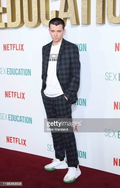 """Asa Butterfield attends the """"Sex Education"""" Season 2 World Premiere at Genesis Cinema on January 08, 2020 in London, England."""
