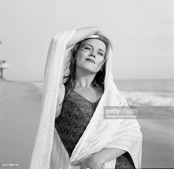 Asa Maynor poses for a portrait on the beach in Los Angeles,CA.
