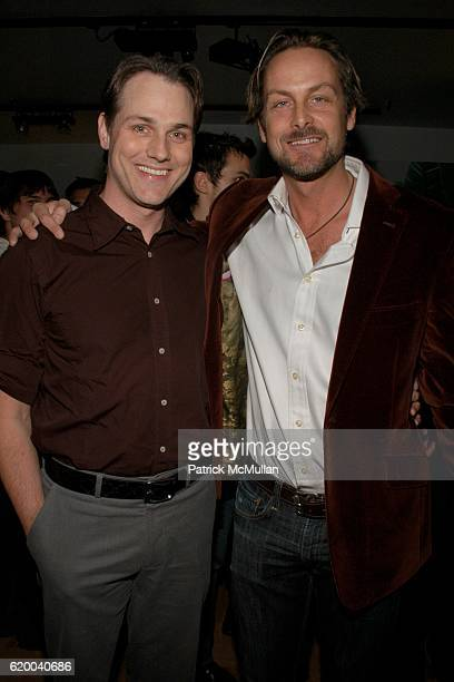 Asa Sumers and Andrew Brumger attend KolDesign and BoConcept's annual Holiday party at BoConcept on December 16 2008 in New York City