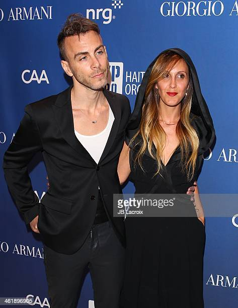 Asaf Avidan attends the Sean Penn 3rd Annual Help Haiti Home Gala Benefiting J/P HRO Presented By Giorgio Armani at Montage Beverly Hills on January...