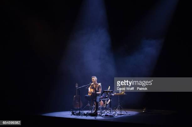 Asaf Avidan performs at Opera palais garnier on March 17, 2017 in Paris, France.