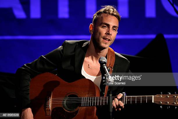 Asaf Avidan performs at the 3rd annual Sean Penn Friends HELP HAITI HOME Gala benefiting J/P HRO presented by Giorgio Armani at Montage Beverly Hills...