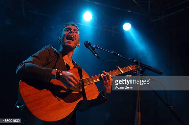 Asaf Avidan performs during a concert at Kesselhaus on March 12 2015 in Berlin Germany