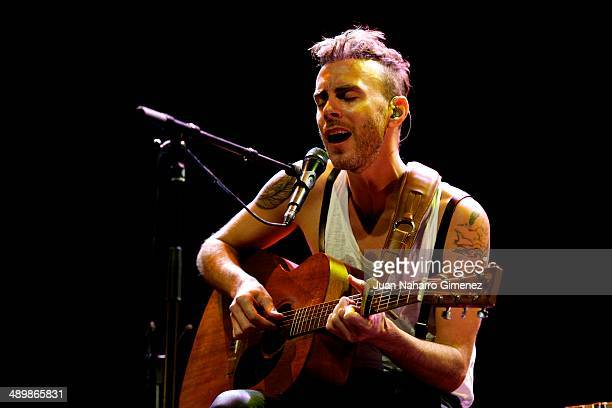 Asaf Avidan performs on stage during Madrid Inquieta Festival 2014 at Teatro Nuevo Alcala on May 12 2014 in Madrid Spain