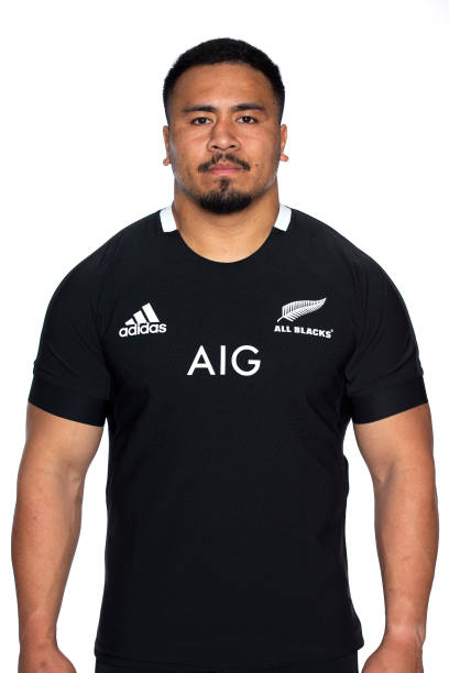 NZL: New Zealand All Blacks Headshots Session
