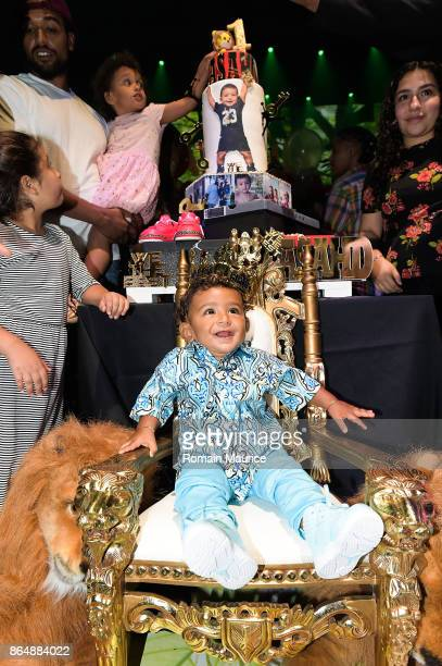 Asahd Khaled at Tot Living By Haute Living Celebrates Asahd's First Birthday With Cybex on October 21 2017 in Miami Florida