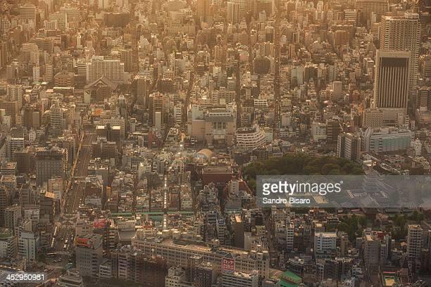 Asakusa Aerial View