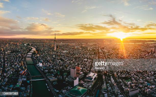 asakusa district in the early morning in tokyo, japan - olympic stadium stock pictures, royalty-free photos & images