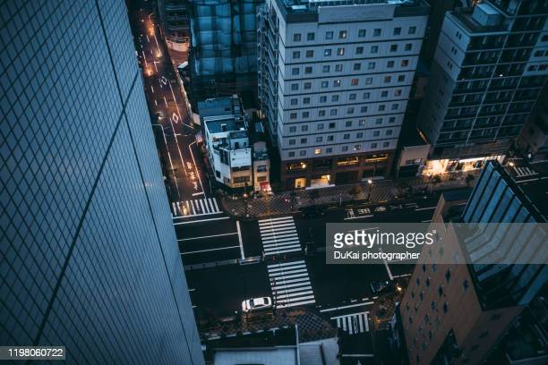 asakusa intersection, tokyo - busy sidewalk stock pictures, royalty-free photos & images