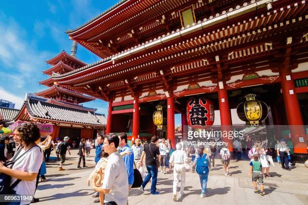 Asakusa Kannon Temple's 2nd gate - the Hozomon.