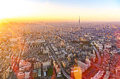 Asakusa, Tokyo sky tree, Japan Skyline