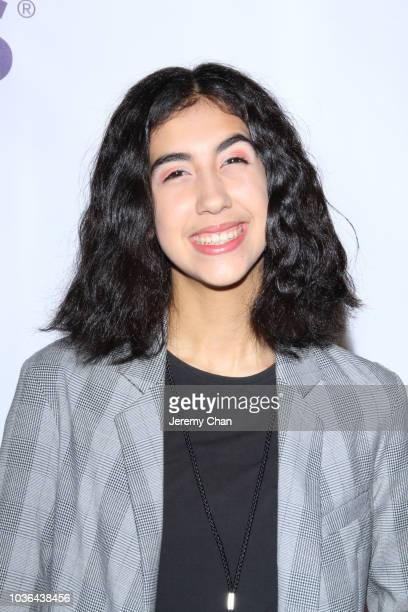 Asalah Youssef arrives to WE Day Toronto and the WE Carpet at Scotiabank Arena on September 20 2018 in Toronto Canada