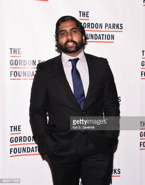 Asanka Pathiraja attends the 2017 Gordon Parks Foundation Awards Gala at Cipriani 42nd Street on June 6 2017 in New York City