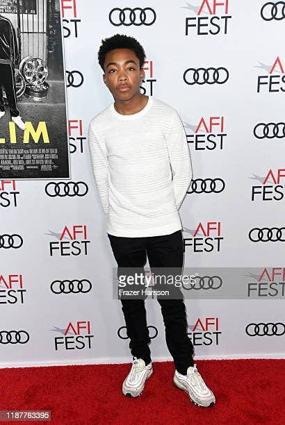 """Asante Blackk attends the """"Queen & Slim"""" Premiere at AFI FEST 2019 presented by Audi at the TCL Chinese Theatre on November 14, 2019 in Hollywood,..."""