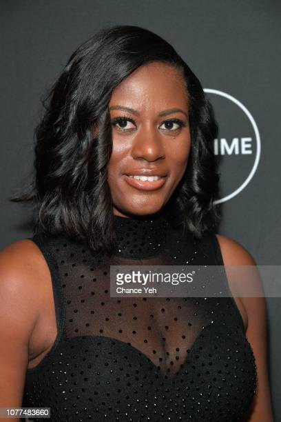 Asante McGee attends Lifetime / NeueHouse Luminaries series 'Surviving R Kelly' documentary screening and conversation at Neuehouse NY on December 04...