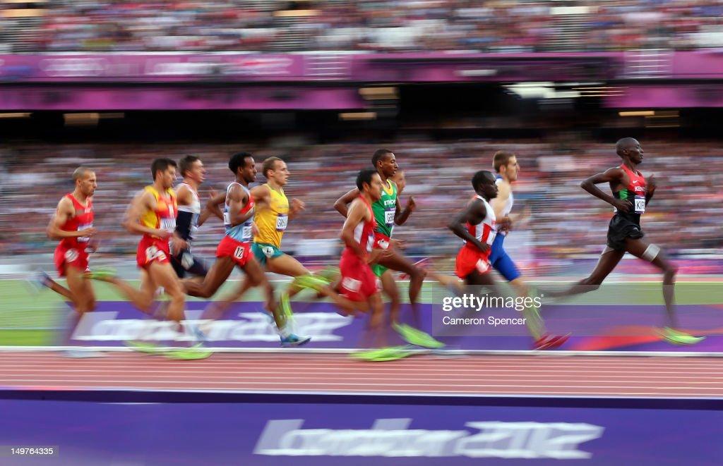 Olympics Day 7 - Athletics : ニュース写真