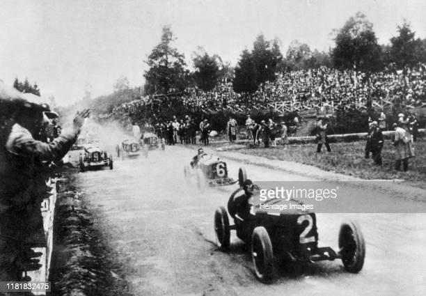 Ascari in Alfa Romeo P2, 1925 Belgian Grand Prix. Creator: Unknown.