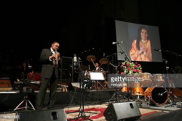 'Ascension Ceremony' dedicated to the late Alice Coltrane at the Cathedral Church of St John the Divine on Thursday night May 17 2007This imageFrom...
