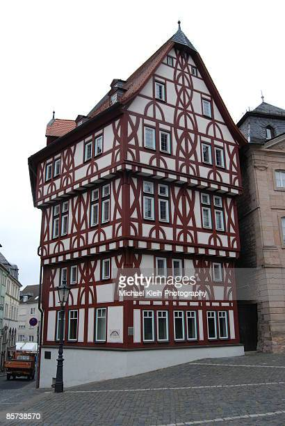 Aschaffenburg Half-Timbered House