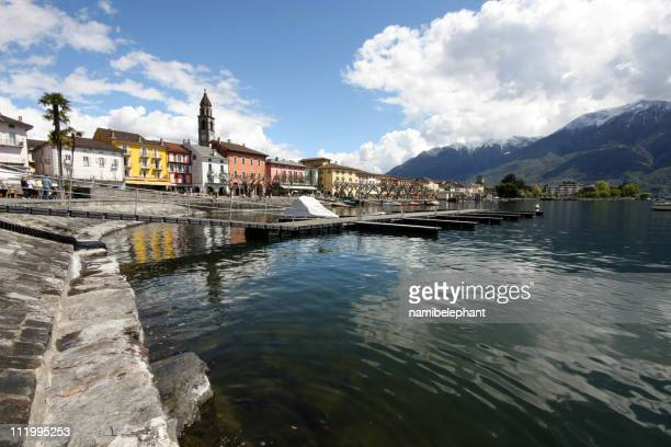 ascona - locarno stock photos and pictures