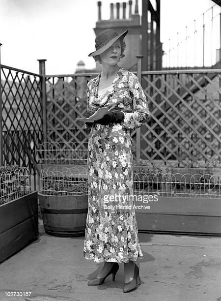 Ascot Fashions by Schiaparelli 13 June 193 Ascot Fashions by Schiaparelli 13 June 1934 Elsa Schiaparelli a French fashion designer whose designs were...
