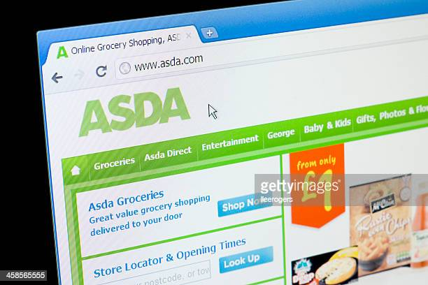 Asda ウェブサイト