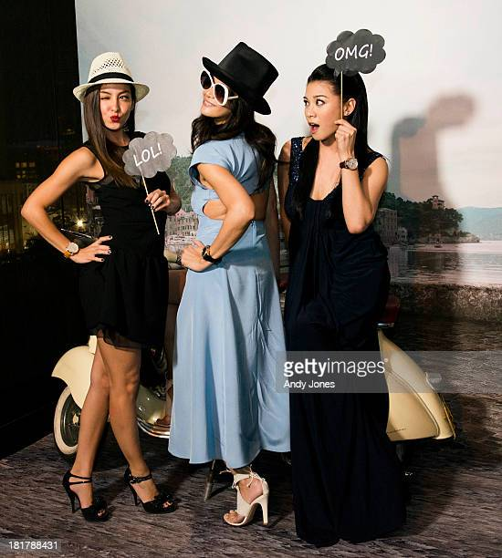 Ase Wang Janet Ma and Bernice Liu attended the exclusive WATCHES WONDERS pasta party hosted by Swiss watch manufacturer IWC Schaffhausen on 25th...