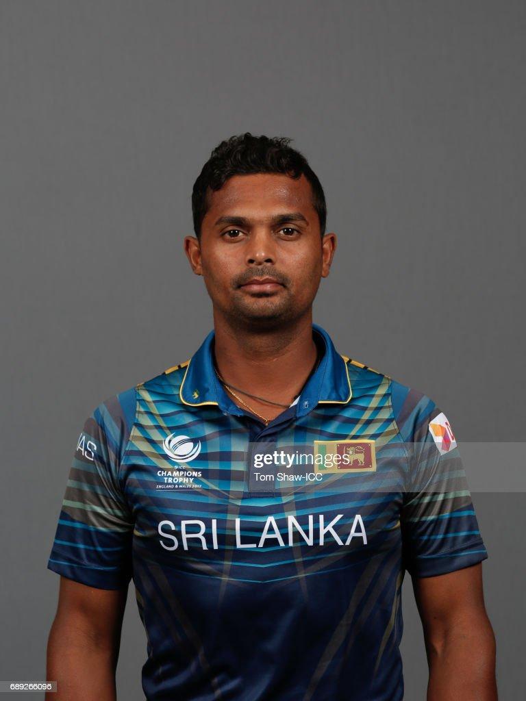 ICC Champions Trophy - Sri Lanka Portrait Session