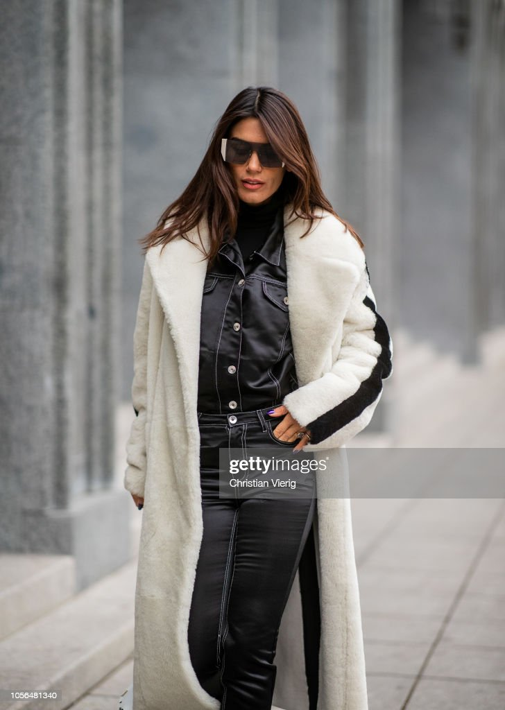 Street Style - Mercedes-Benz Tbilisi Fashion Week - November 2, 2018 : News Photo