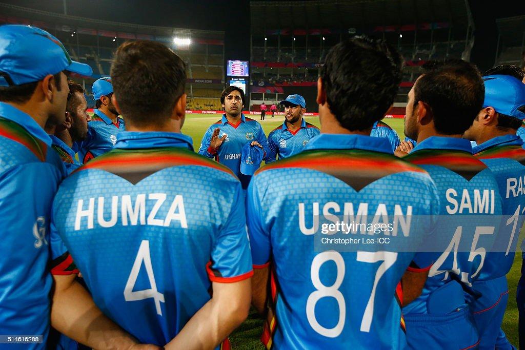 ICC World Twenty20 India 2016: Hong Kong v Afghanistan
