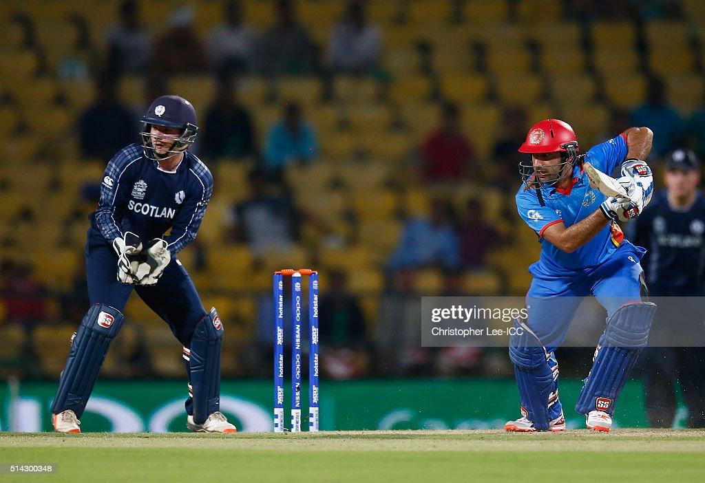 ICC Twenty20 World Cup: Scotland v Afghanistan