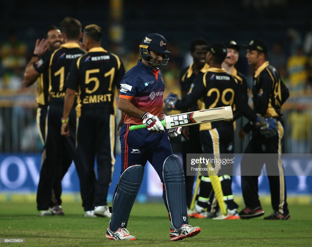 T 10 League at Sharjah Cricket Stadium - Day Four