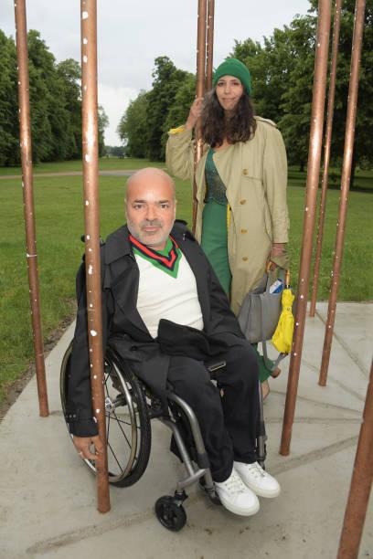 "GBR: ""Sophia Al-Maria: Taraxos"" Sculpture Unveiling At The Serpentine Gallery"