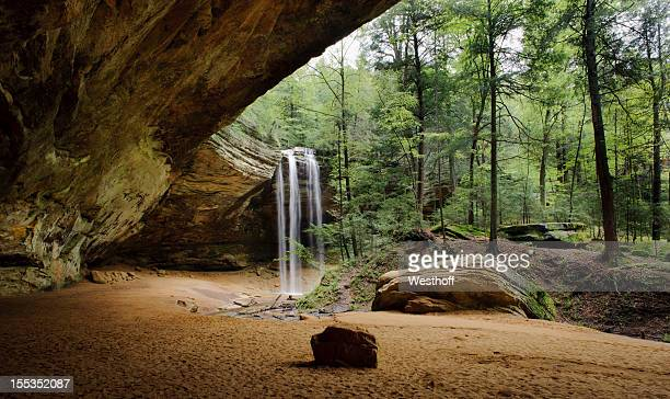 ash cave - ohio stock pictures, royalty-free photos & images
