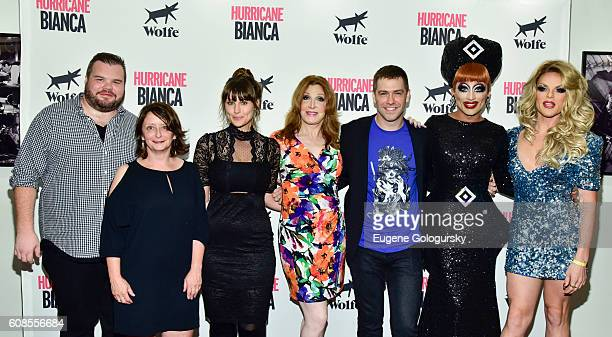 Ash Christian Rachel Dratch Molly Ryman Bianca Leigh Matt Kugelman Bianca Del Rio Bianca Del Rio and Willam Belli attend the US Premiere Of HURRICANE...