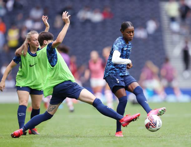 GBR: Tottenham Hotspur Women v Arsenal Women: The MIND Series