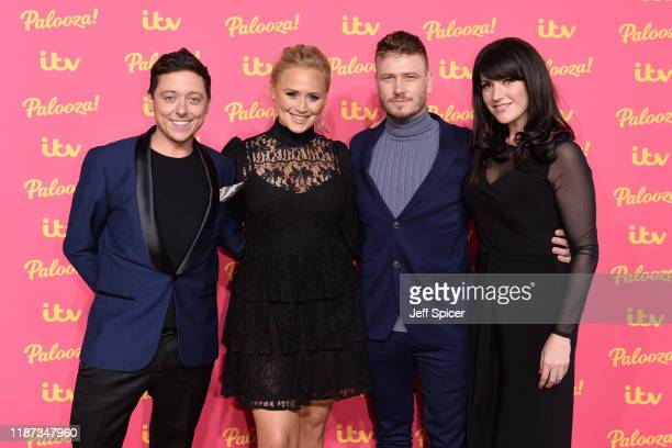 Ash Palmisciano Amy Walsh Matthew Wolfenden Laura Norton attend the ITV Palooza 2019 at the Royal Festival Hall on November 12 2019 in London England