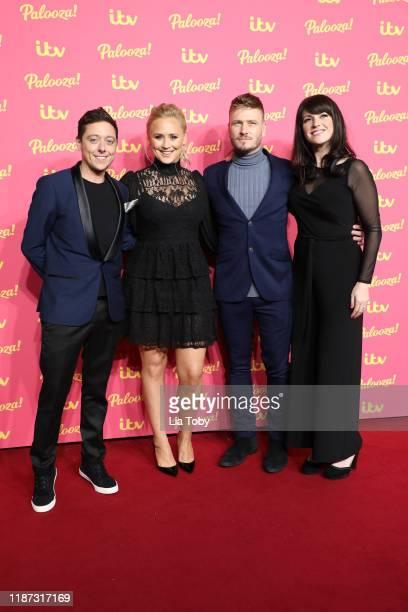 Ash Palmisciano Amy Walsh Matthew Wolfenden Laura Nortonattends the ITV Palooza 2019 at The Royal Festival Hall on November 12 2019 in London England