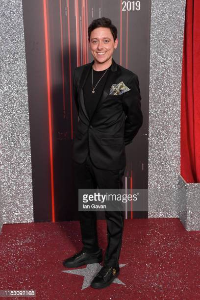 Ash Palmisciano attends the British Soap Awards at The Lowry Theatre on June 01 2019 in Manchester England