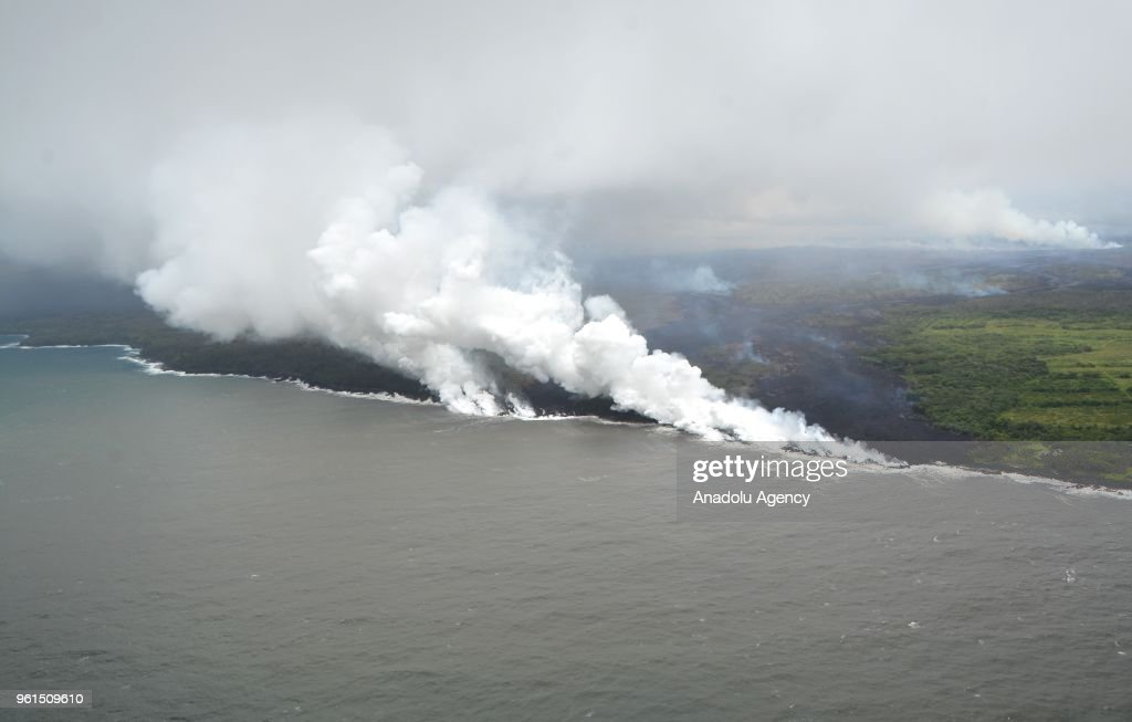 US: Hawaii volcano destroys dozens of structures : News Photo