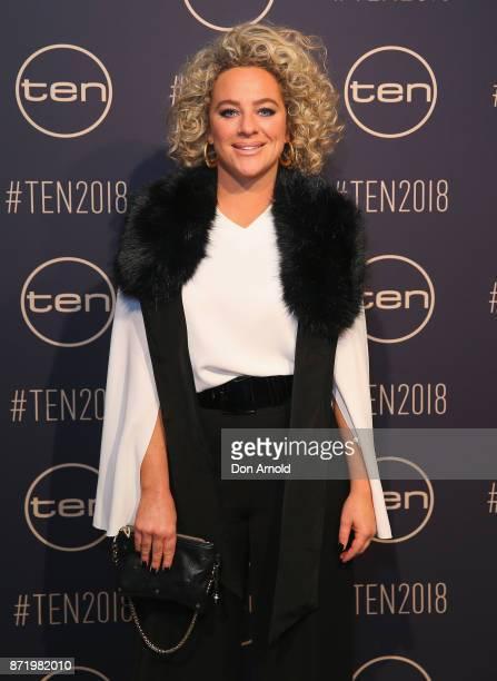 Ash Pollard poses during the Network Ten 2018 Upfronts on November 9, 2017 in Sydney, Australia.