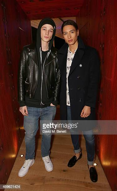 """Ash Stymest and Natt Weller attend an exclusive party to celebrate the imminent arrival of """"City Island by Ballymore"""" - a new island neighbourhood..."""