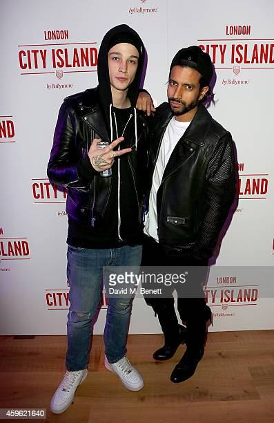 """Ash Stymest and Nik Thakkar attend an exclusive party to celebrate the imminent arrival of """"City Island by Ballymore"""" - a new island neighbourhood..."""
