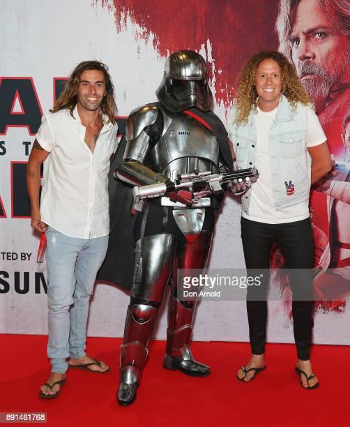 Ash Toweel and Tim Dormer attends Star Wars The Last Jedi Sydney Screening Event on December 13 2017 in Sydney Australia