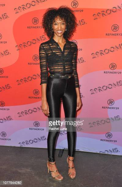 Asha Abdella attends Refinery29's 29Rooms Los Angeles 2018 Expand Your Reality at The Reef on December 04 2018 in Los Angeles California