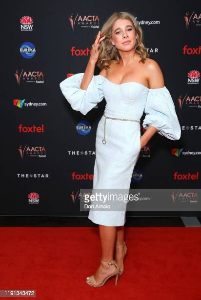 Asha Boswarva attends the 2019 AACTA Awards Presented by Foxtel | Industry Luncheon at The Star on December 02 2019 in Sydney Australia