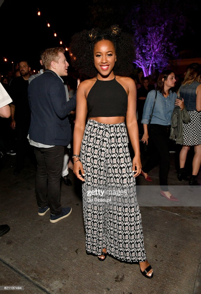 Asha Bromfield at Entertainment Weekly's annual Comic-Con party in celebration of Comic-Con 2017 at Float at Hard Rock Hotel San Diego on July 22, 2017 in San Diego, California.